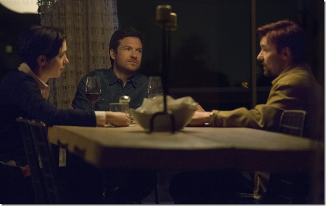 "Rebecca Hall, Jason Bateman and Joel Edgerton in ""The Gift."""
