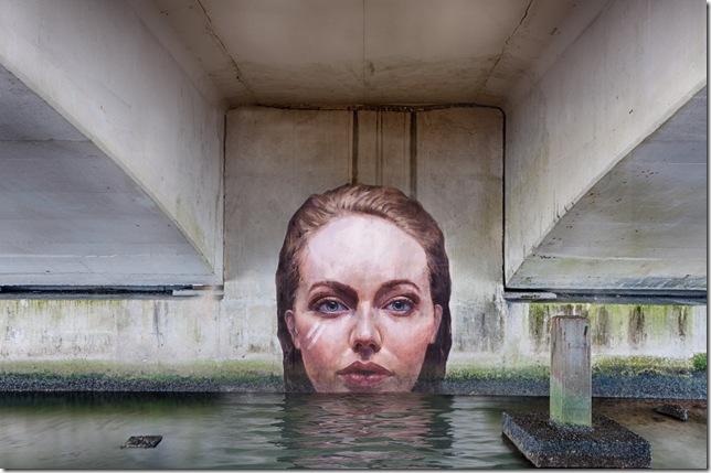 A mural by Sean Yoro.