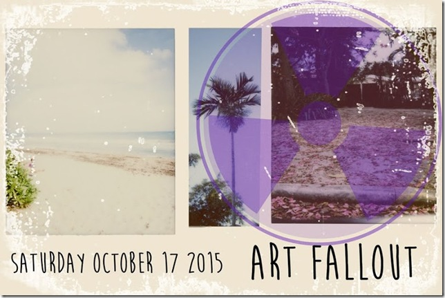 The Art Fallout flier for 2015.