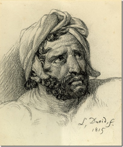 """Man in Turban"" (1815), by Jacques-Louis David, showing from Oct. 23 to Jan. 17 at the Lowe Art Museum."