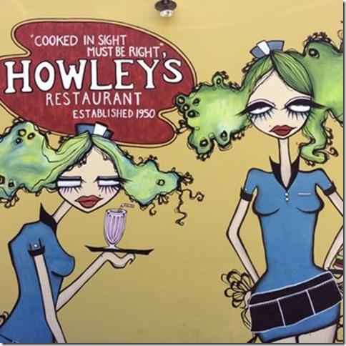 Mural for Howley's Restaurant, by Amanda Valdes.