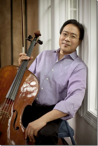 Yo-Yo Ma plays the Arsht on Nov. 15 with the Silk Road Ensemble, and returns to the Kravis on Jan. 15. (Photo by Jeremy Cowart)