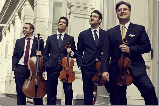 The Escher String Quartet appears Jan. 10 at the Society of the Four Arts. (Photo by Sophie Zhai)