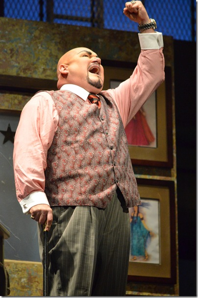 "Kevin Glavin in ""The Barber of Seville"" at Florida Grand Opera. (Photo by Brittany Mazzurco Muscato)"