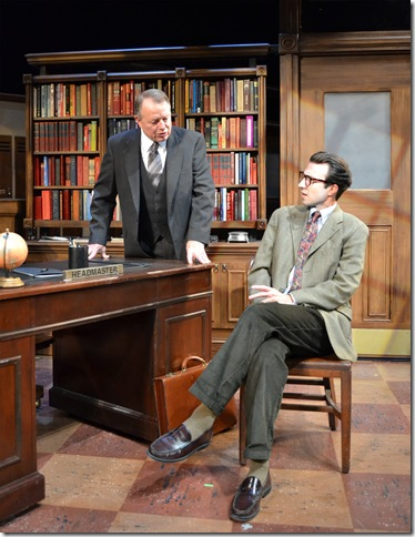 "Rob Donohoe and Cliff Burgess in ""The History Boys."" (Photo by Samantha Mighdoll)"