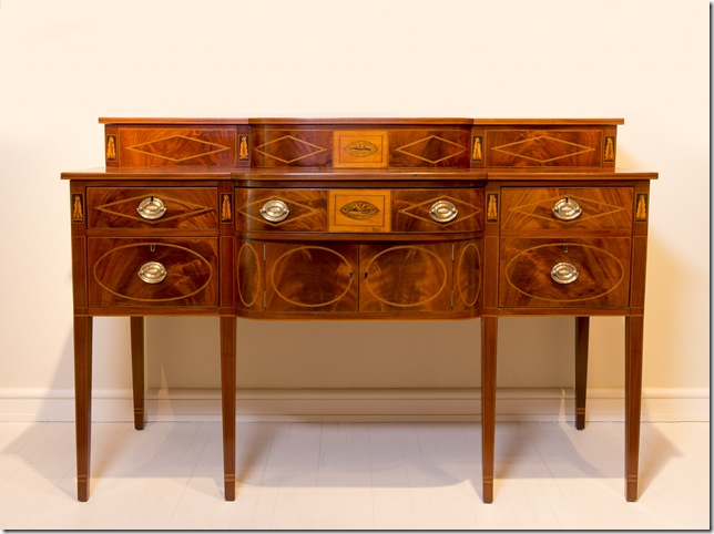 Sideboard (c. 1790-1800) from Charleston. (Courtesy Rivers Collection, photo by Jack Alterman)