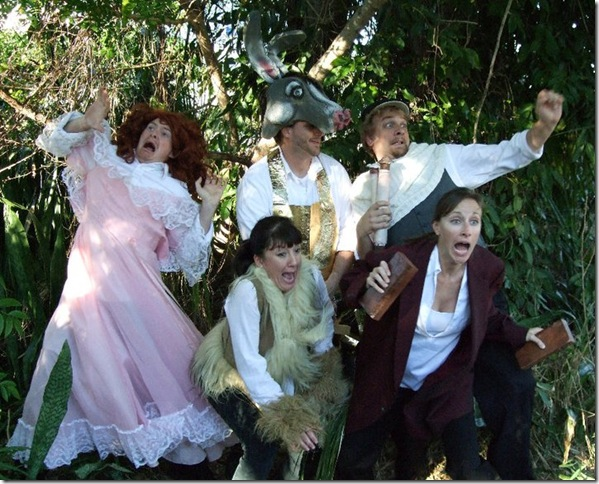 """The Take Heed Theater Company in """"A Midsummer Night's Dream."""""""