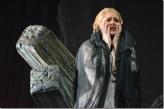 "Dana Beth Miller in ""Norma"" at Florida Grand Opera. (Photo by Brittany Mazzurco Muscato)"