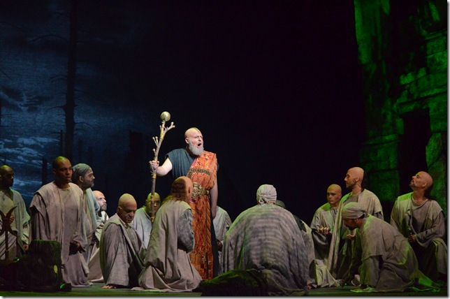 "Craig Colclough in ""Norma"" at Florida Grand Opera. (Photo by Brittany Mazzurco Muscato)"