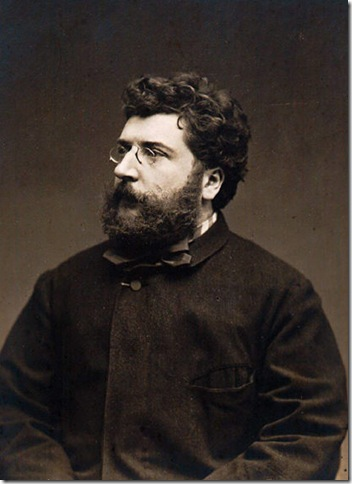 Georges Bizet (1838-1875). (Photo by Etienne Carjat)