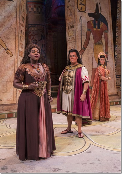 Michelle Johnson, Jonathan Burton and Leann Sandel-Pantaleo in Sarasota Opera's production of