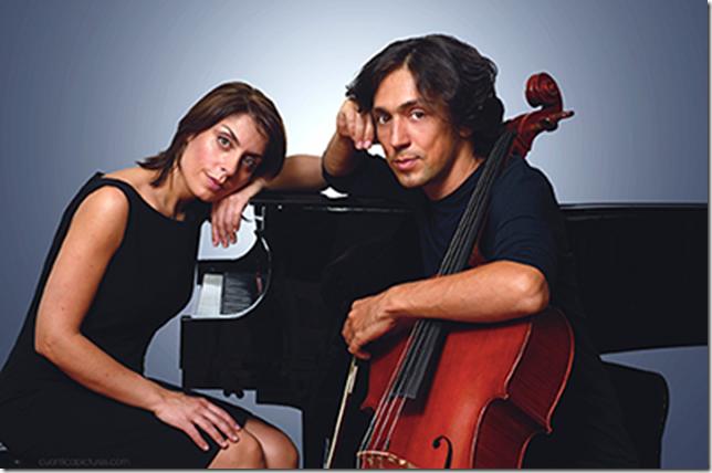 Ani Gogova and Ian Maksin: the Ian and Ani duo.