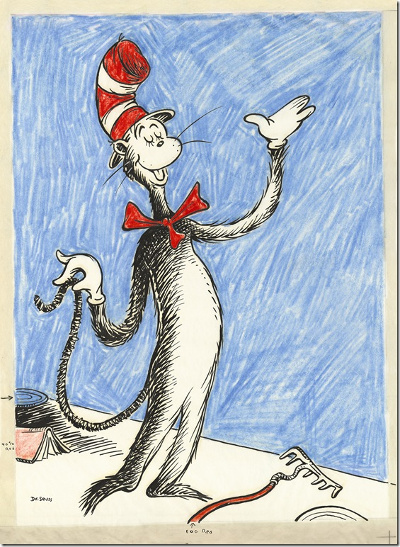 The Cat in the Hat, by Theodor Geisel, aka Dr. Seuss.