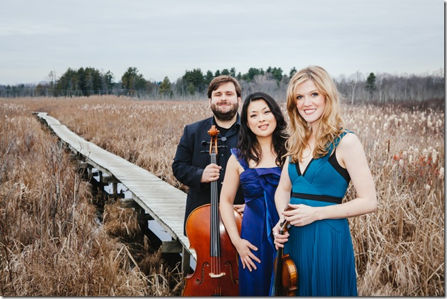 The Neave Trio: Mikhail Veselov, Eri Nakamura and Anna Williams.