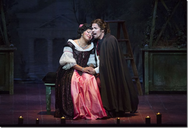 "Janai Brugger and David Portillo in ""Don Pasquale."""