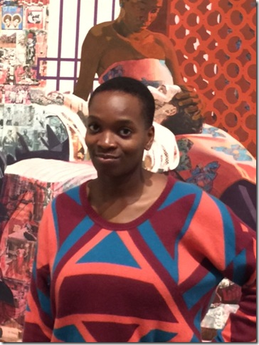 Njideka Akunyili Crosby. (Photo by April W. Klimley)