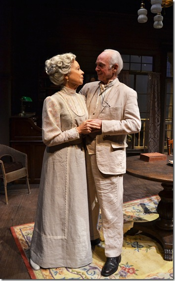 """Maureen Anderman and Dennis Creaghan in """"Long Day's Journey into Night."""" (Photo by Samantha Mighdoll)"""