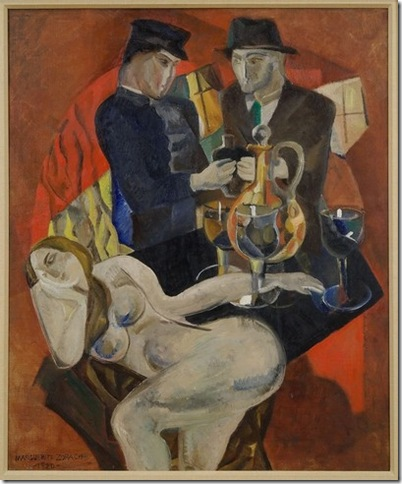Prohibition (1920), by Marguerite Thompson Zorach.