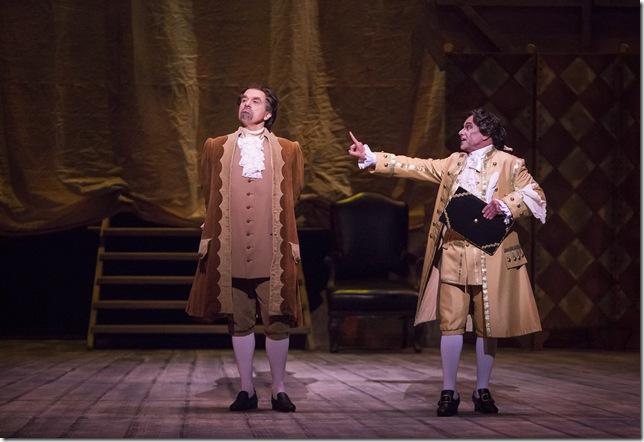 "Mark Schnaible and Anthony Laciura in ""Ariadne auf Naxos."""