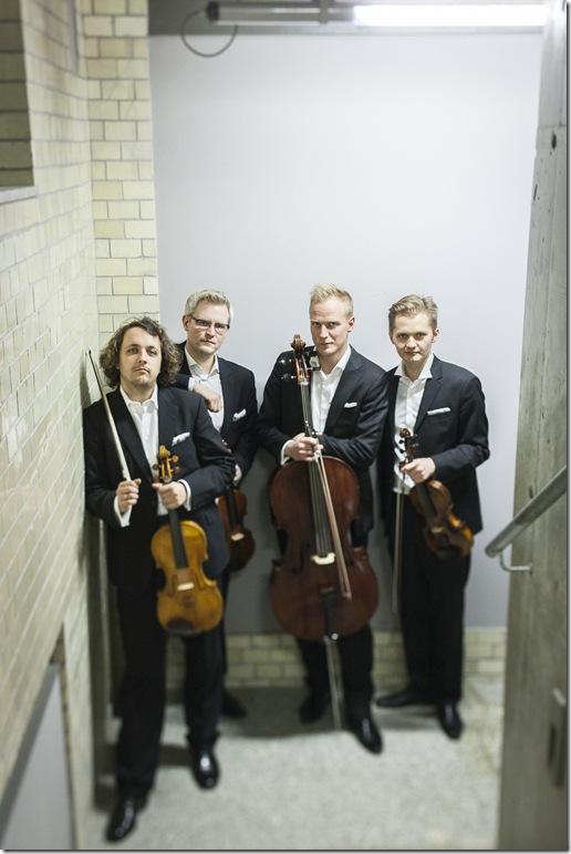 The Meccore String Quartet.