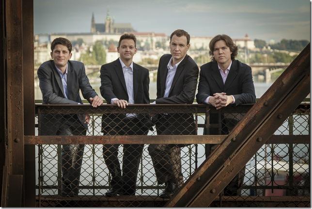 The Bennewitz Quartet. (Photo by Kamil Ghais)