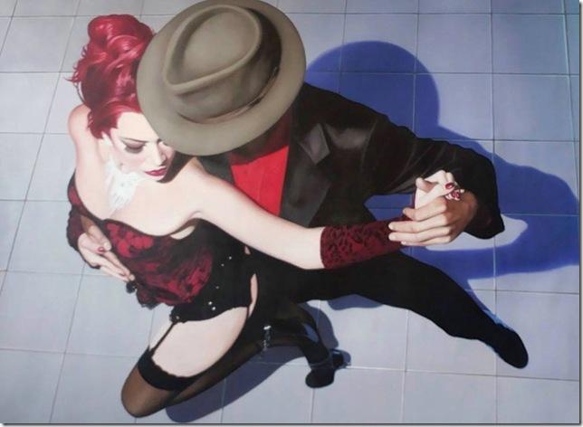 Tango Areo, by Jorge Botero Lujan.