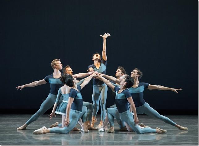 Miami City Ballet dancers in Year of the Rabbit. (Photo by Gene Schiavone)