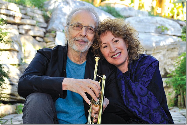 Herb Alpert and Lani Hall.