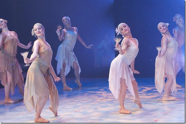 "A scene from Ballet Palm Beach's ""Gatsby."" (Photo by Janine Harris)"