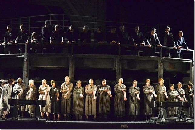 "A scene from Florida Grand Opera's ""The Passenger."" (Photo by Brittany Mazzurco-Muscato)"