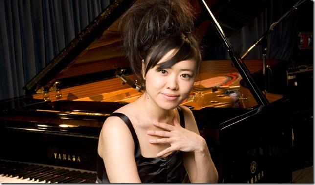 Jazz pianist Hiromi.