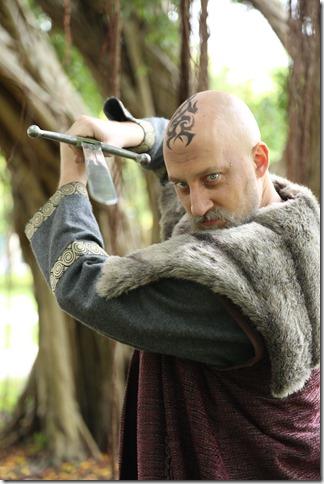 "Ross Frawley stars in ""King Lear"" at Florida Atlantic University in Boca Raton. (Photo by Viviana Puga"
