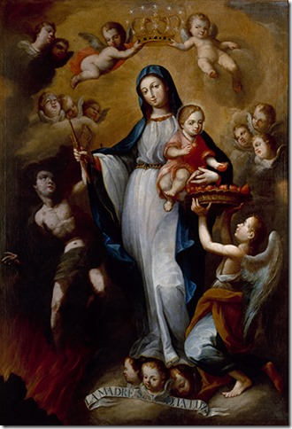 Our Lady of Light (1765), by Juan Pedro Lopez.