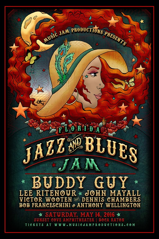 First-ever Florida Jazz and Blues Jam packs Grammy prowess