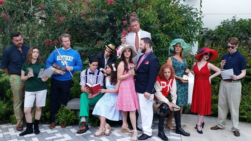 The cast of The Taming of the Shrew at Palm Beach Shakespeare Festival. (Jen Scott Photography)