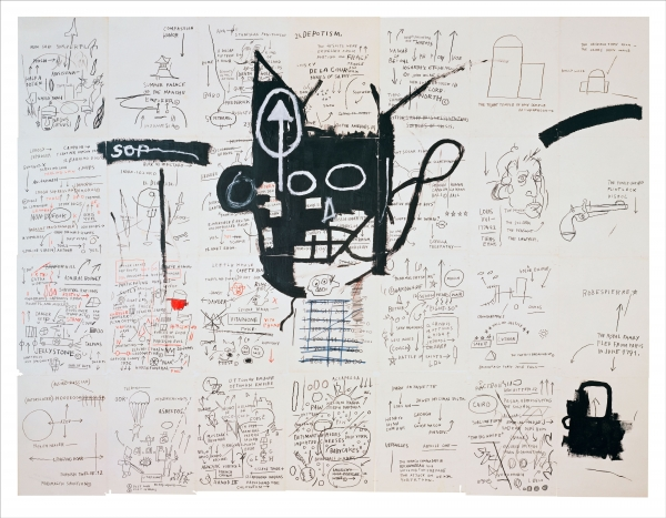 Untitled (1982-3), by Jean-Michel Basquiat.