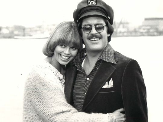 Toni Tennille and Daryl Dragon, aka The Captain and Tennille, circa 1980.