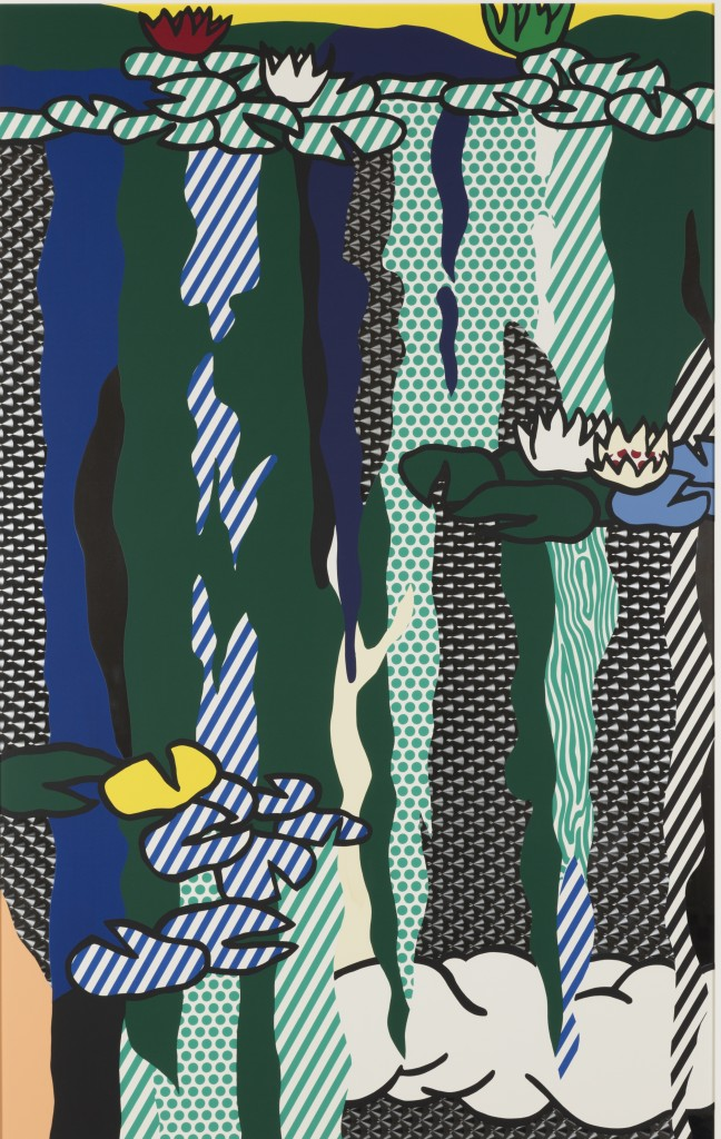 Water Lilies with Cloud (1992), by Roy Lichtenstein.