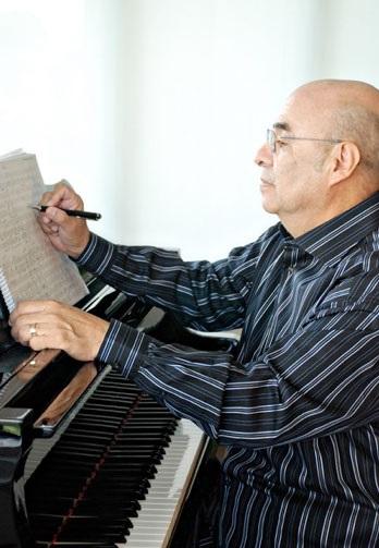 Composer Eduardo Magallanes.
