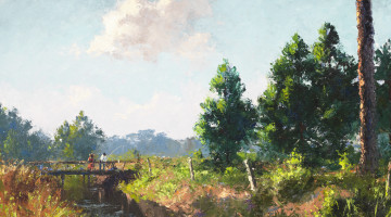 FAU exhibit to feature art of the Florida Highwaymen, their teacher