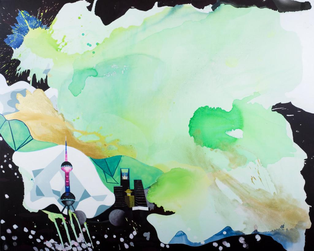 Electric Lotus Land, by Elisabeth Condon (Tampa).