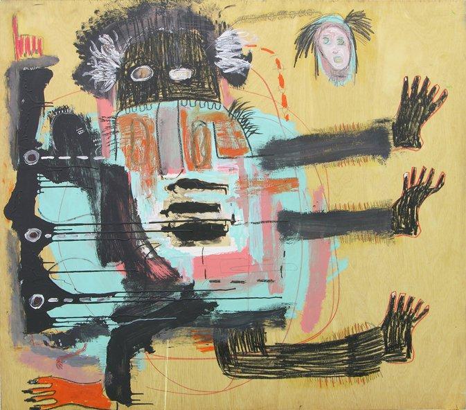 Oppression (2015), by Emilio Martinez.