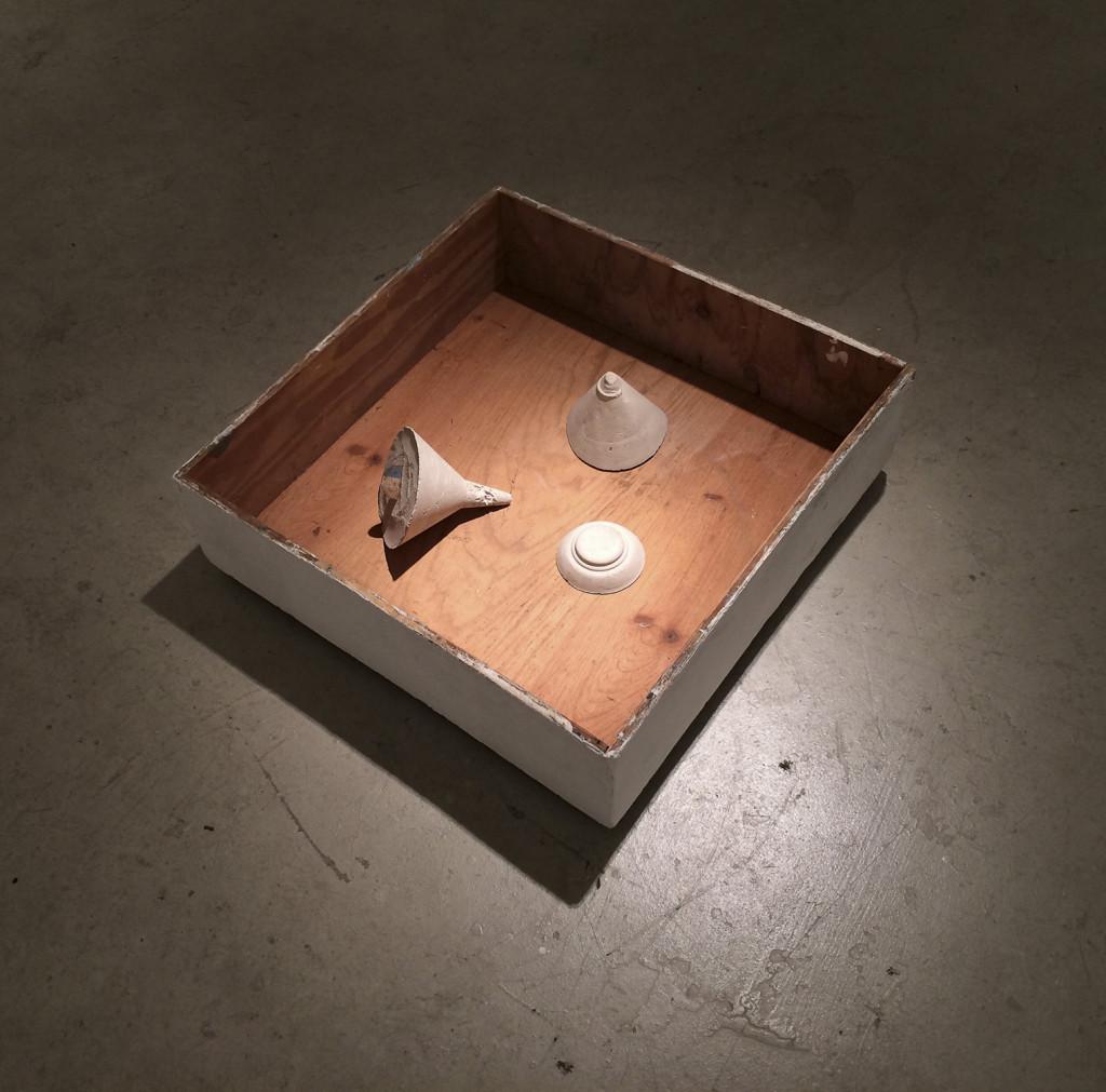 Three Plenums (2014), by Onadije Shabaka (Miami).