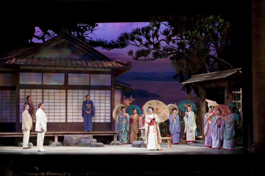 A scene from Sarasota Opera's 2012 production of Puccini's Madama Butterfly. (Photo by Rod Millington)