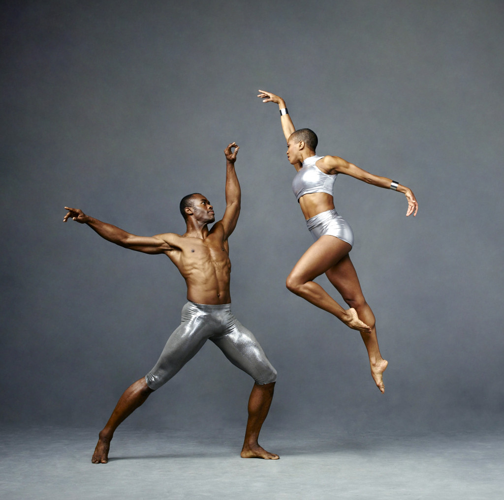 Akua Noni Parker and Jamar Roberts of the Alvin Ailey American Dance Theatre. (Photo by Andrew Eccles)
