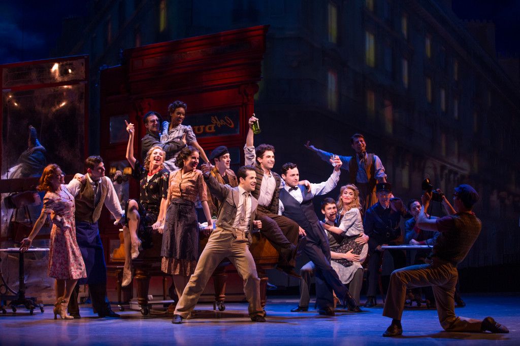 A scene from An American in Paris, set for the Kravis Center from Dec. 6-11.
