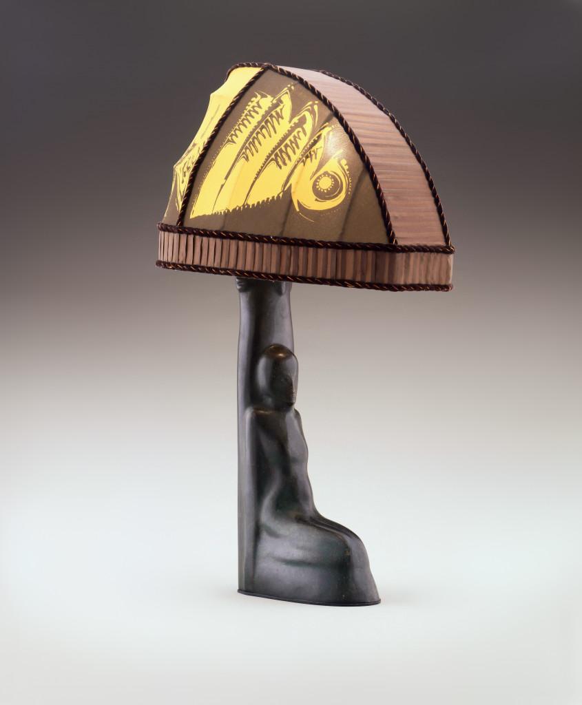 Batik lamp (1920), by Bernardus Jakobus Richters.