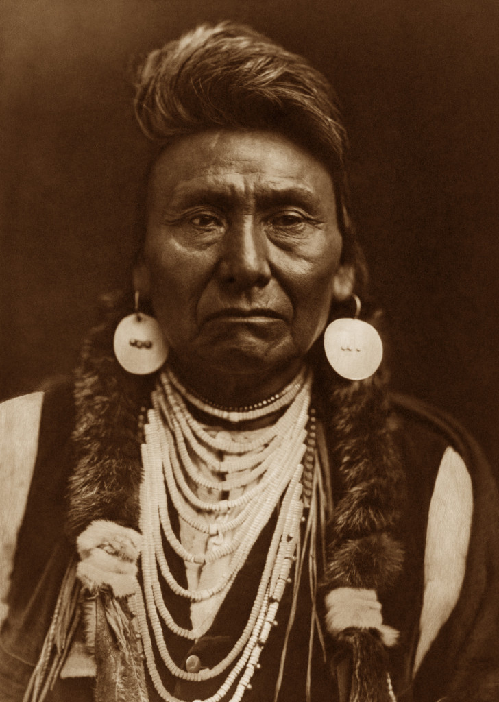 Chief Joseph of the Nez Perce (1903), by Edward Curtis.
