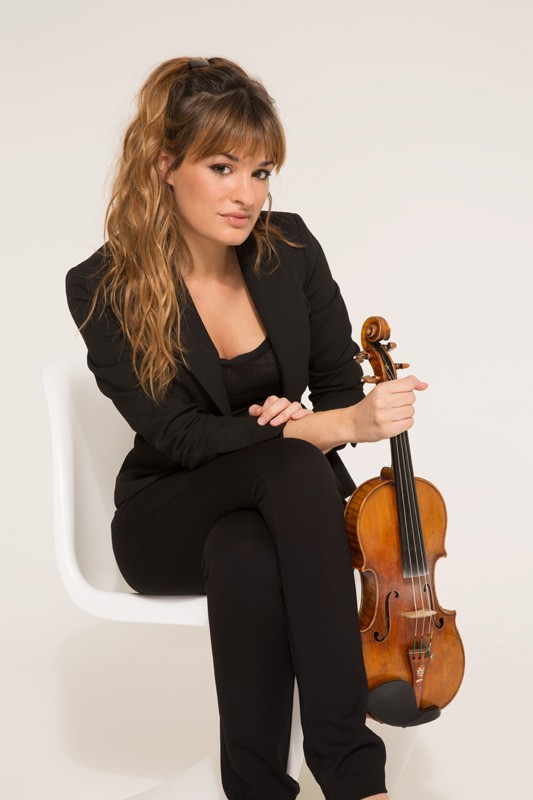 Nicola Benedetti. (Photo by Simon Fowler)