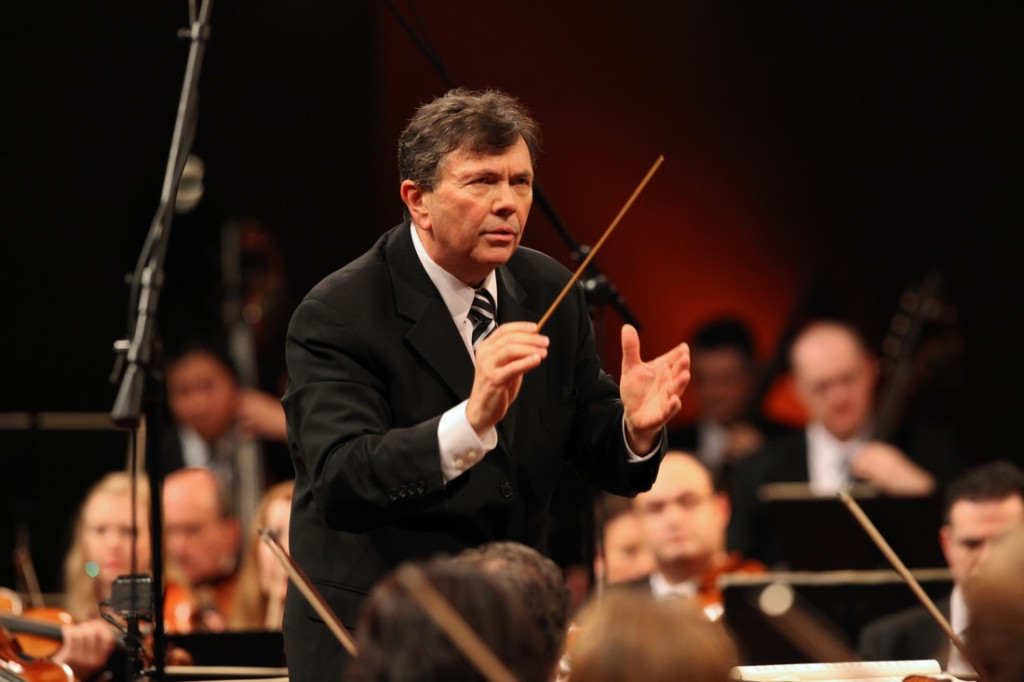 Gerard Schwarz returns to South Florida again this year to lead the Symphonia Boca Raton on March 26. (Photo by Steven J. Sherman)